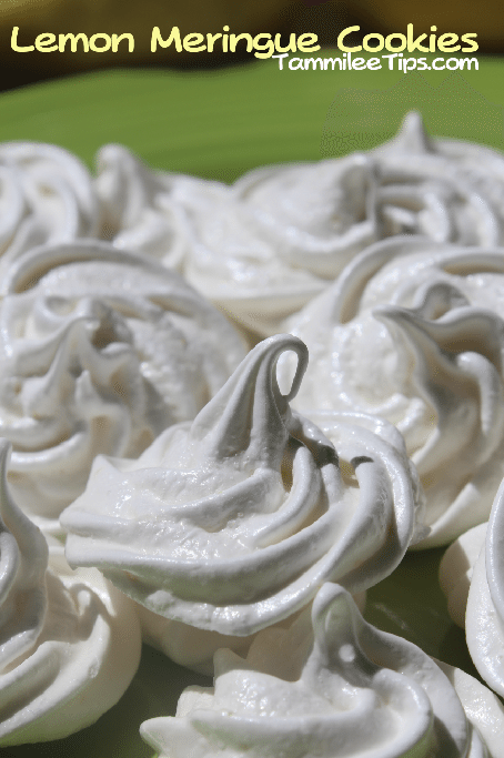 Lemon Meringue Cookies