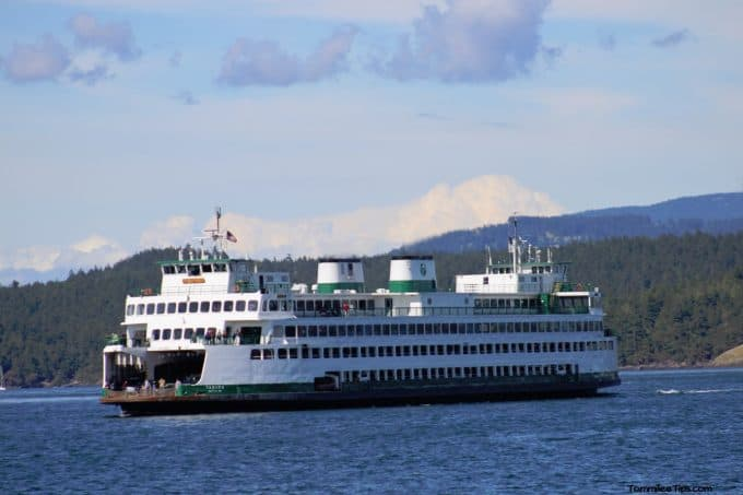 Washington State Ferry to Friday Harbor, San Juan Islands