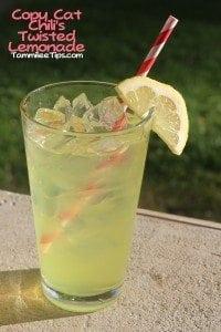 Copy Cat Chilis Twisted Lemonade Tammilee Tips