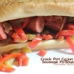 Crock Pot Cajun Smoked Sausage Po'Boys Recipe
