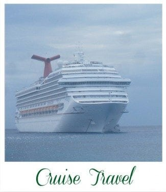 Cruise Travel Poloroid