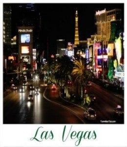 Las Vegas Poloroid Frame