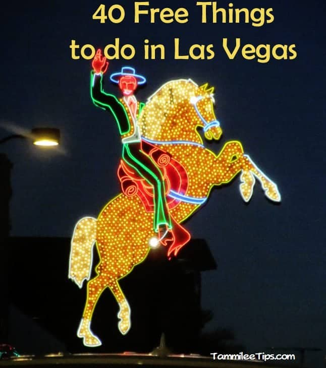 Favorite Free Things to do in Las Vegas!