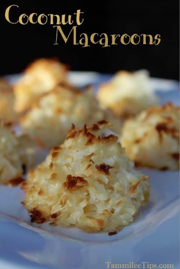 2 Ingredient Coconut Macaroon Cookies Recipe
