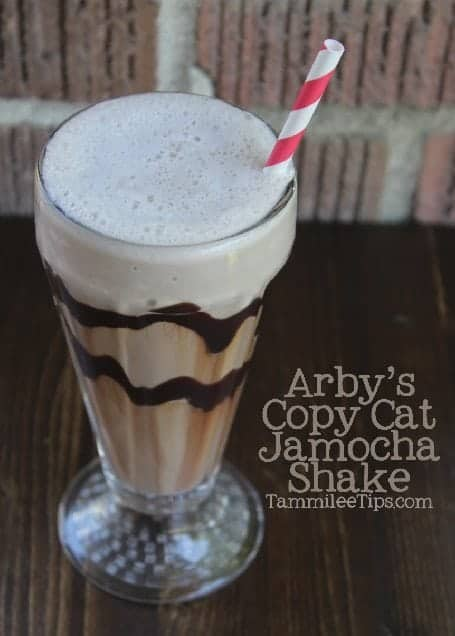 Copy Cat Arby's Jamocha Shake