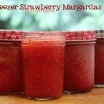 Freezer Strawberry Margaritas