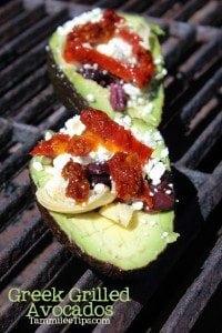 Greek Grilled Avocados