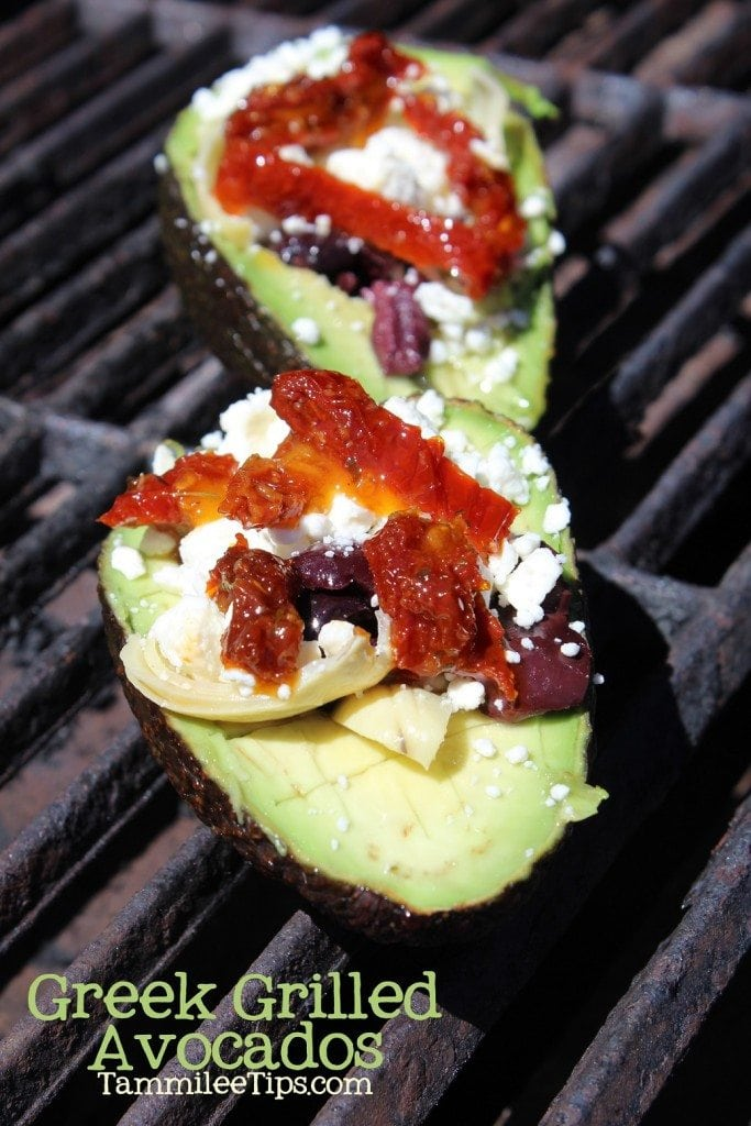 Greek Grilled Avocados
