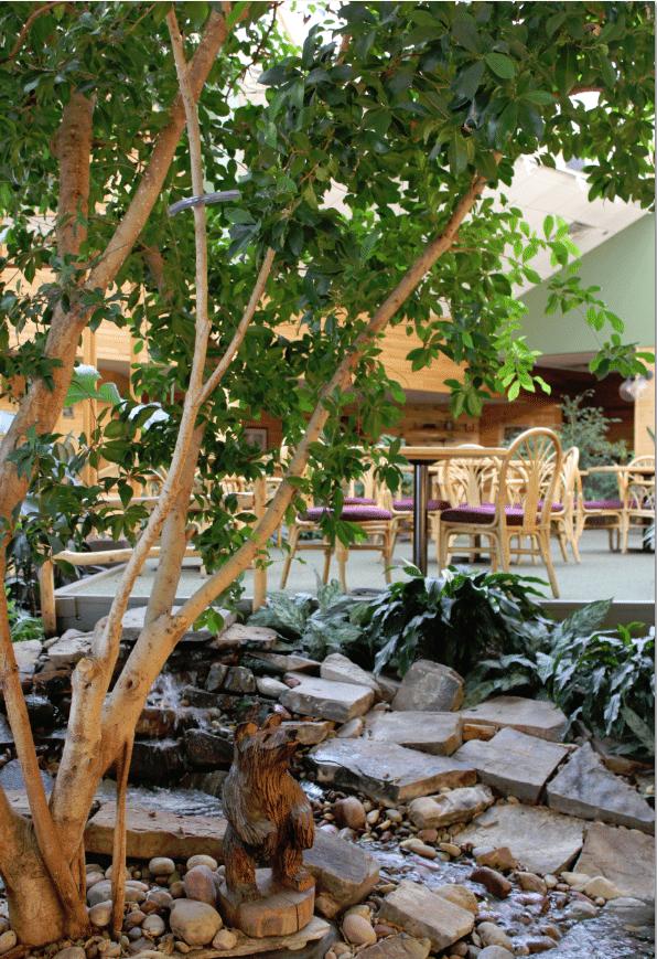 Red Lion Kalispell Roaring Breakfast Area