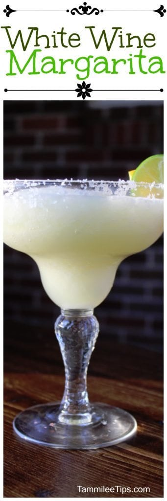 Delicious White Wine Margarita is the perfect summer cocktail drink recipes. Enjoy this for Cinco De Mayo or any night of the week.