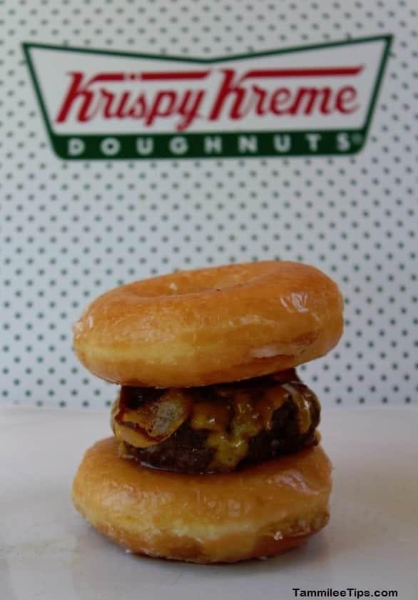 Krispy Kreme Bacon Cheeseburger