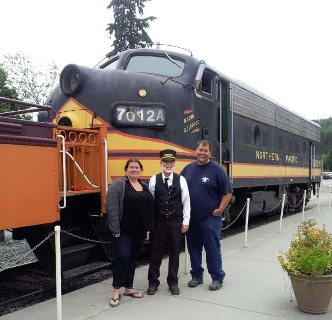 Mount Rainier Scenic Railroad Conductor
