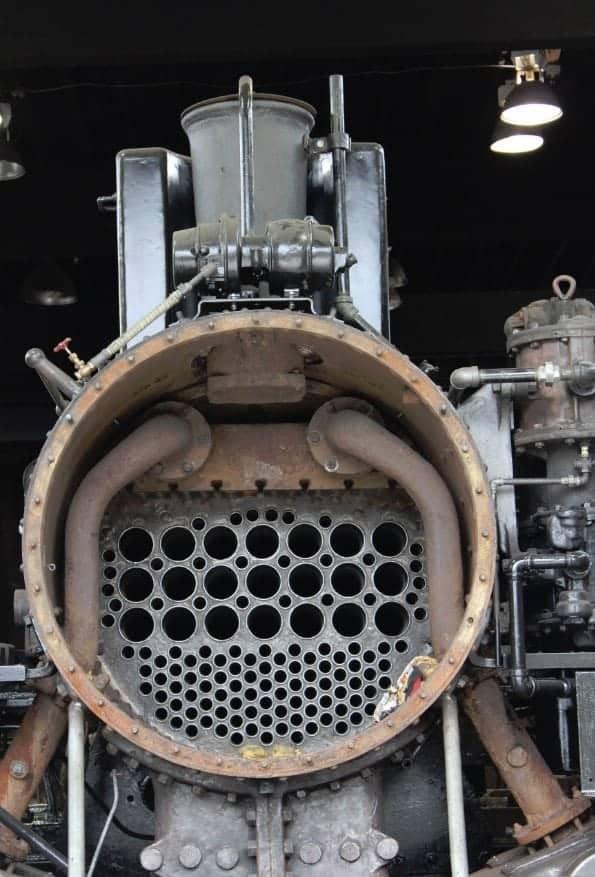 Mount Rainier Scenic Railroad Open Engine