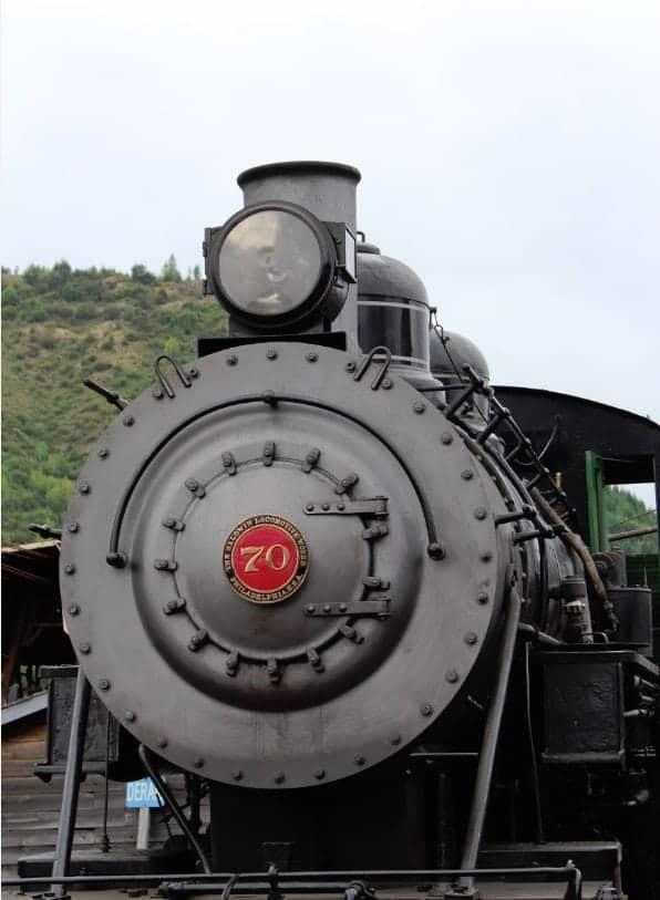 Mount Rainier Scenic Railroad Steam Engine