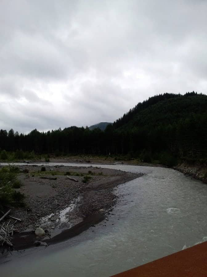 Mount Rainier Scenic Railroad Views