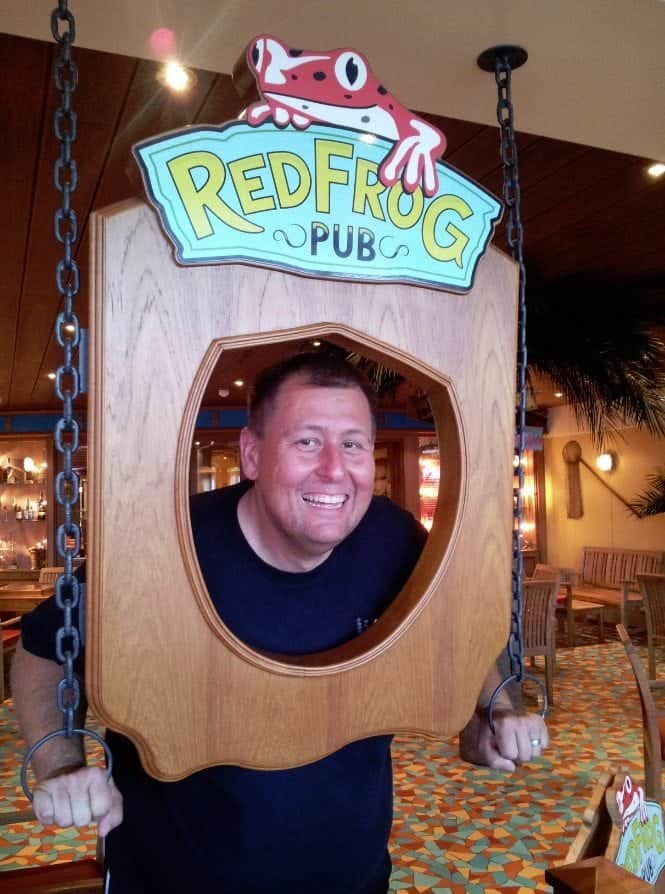 Carnival Breeze Red Frog Pub John