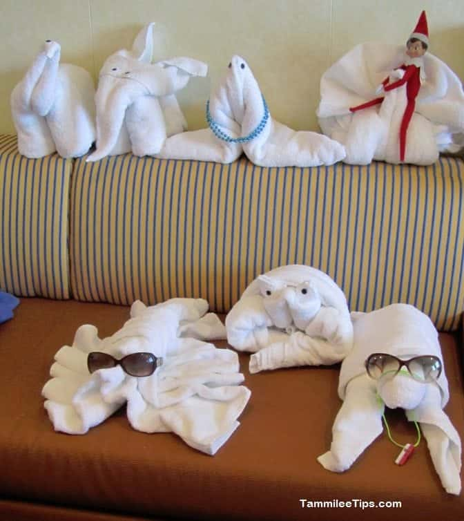 Carnival Breeze Towel Animal Family