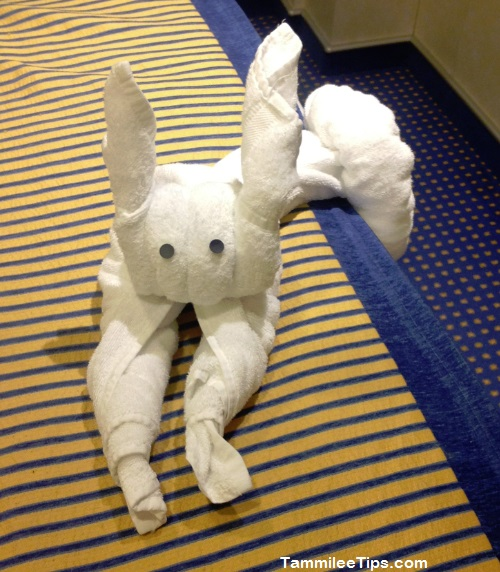 Carnival Breeze Towel Animal