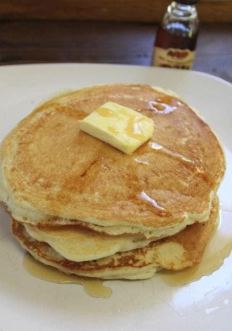 Copy Cat Cracker Barrel Pecan Pancakes