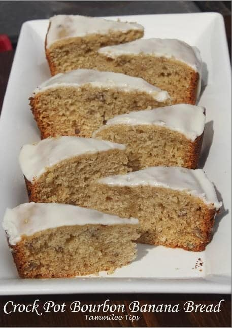 Crock Pot Bourbon Banana Bread