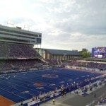 Boise State Broncos Game Blue Field