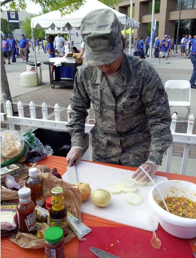 Boise State Broncos Tailgating usa onions