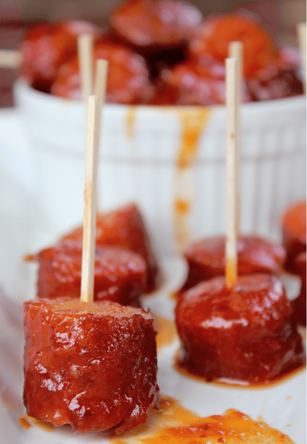 Crock Pot Kielbasa Appetizer