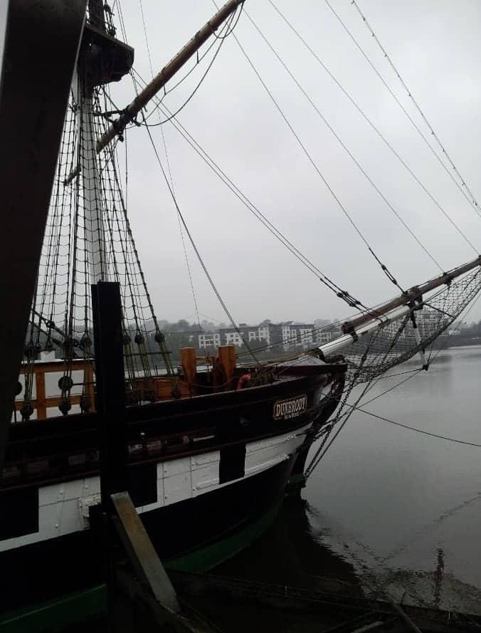 Dunbrody ship