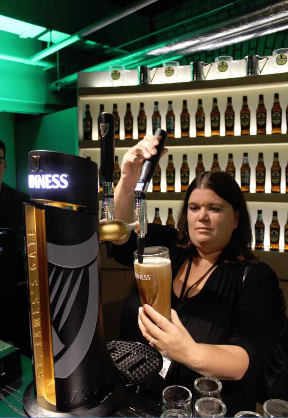 Guiness Storehouse Dublin Pour 2