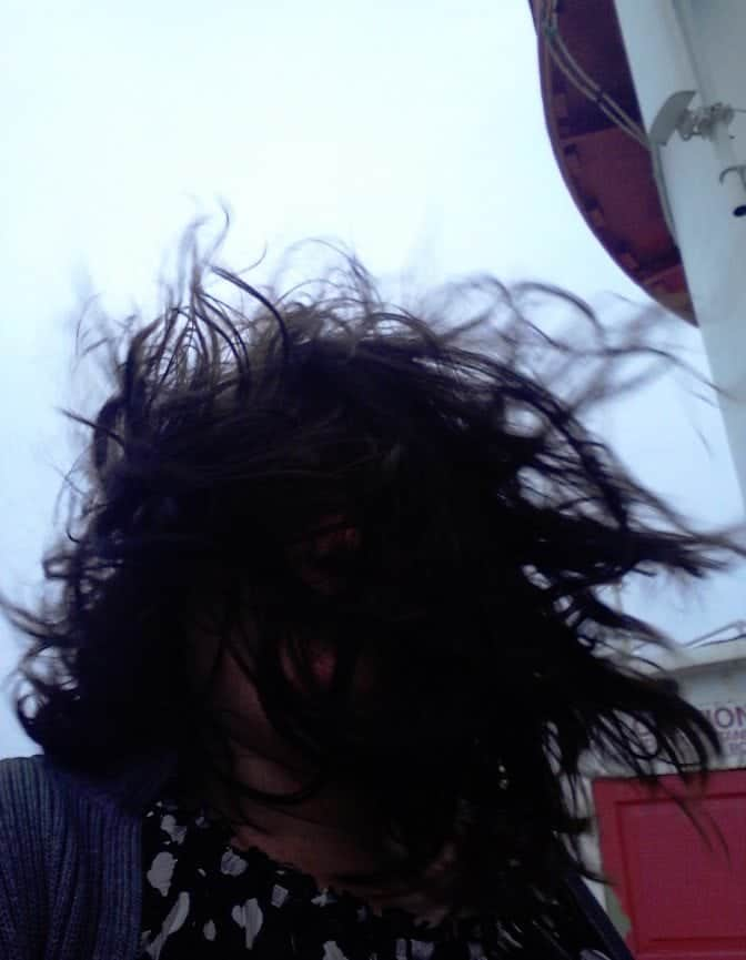 Hook Head Lighthouse bit windy
