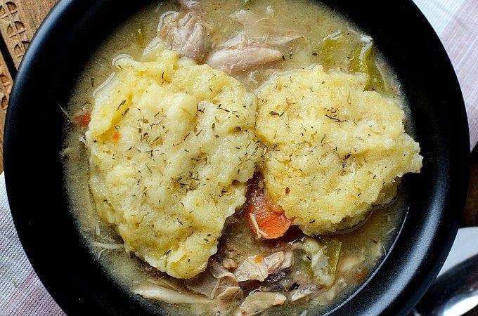 Slow Cooker Crock Pot Chicken and Dumplings Recipe