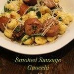 Smoked Sausage Gnocchi