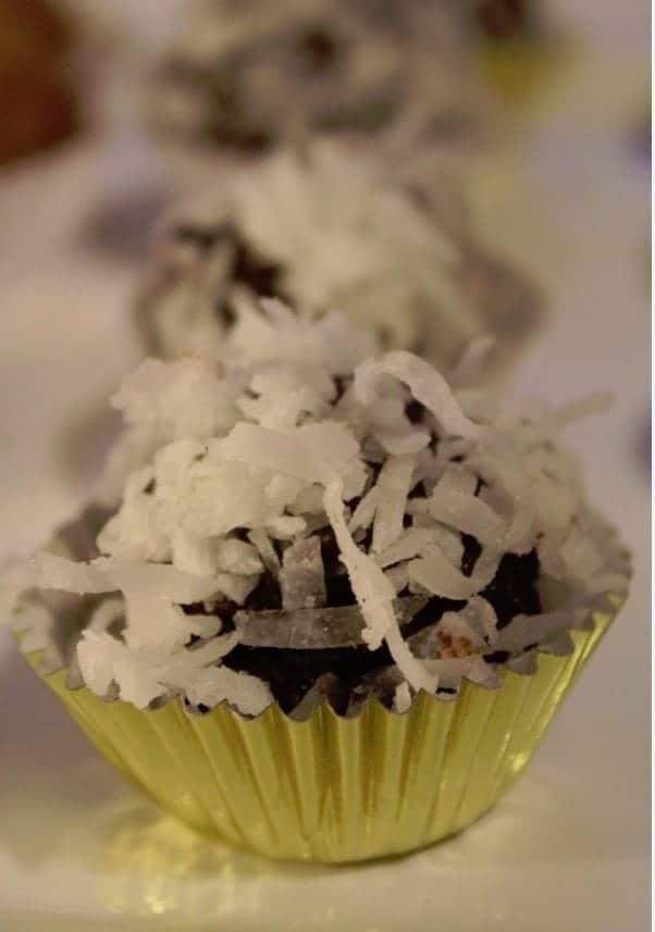 Bakers Coconut Truffle