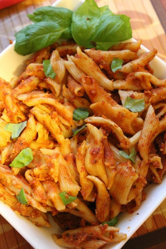 Crock Pot Cheesy Pasta