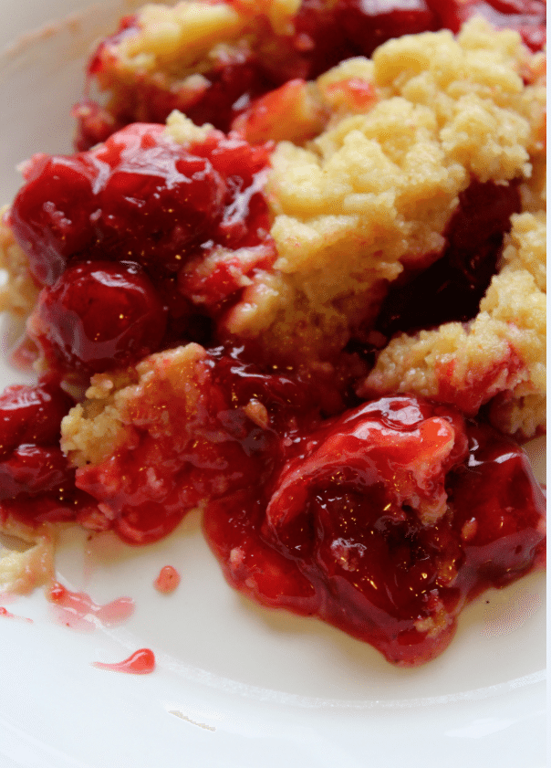 Crock Pot Cherry Dump Cake 2