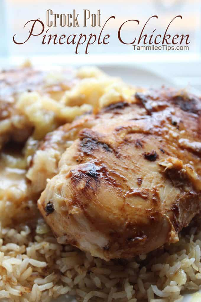 chicken crock pot crock pot pineapple chicken recipe sometimes known as 30486