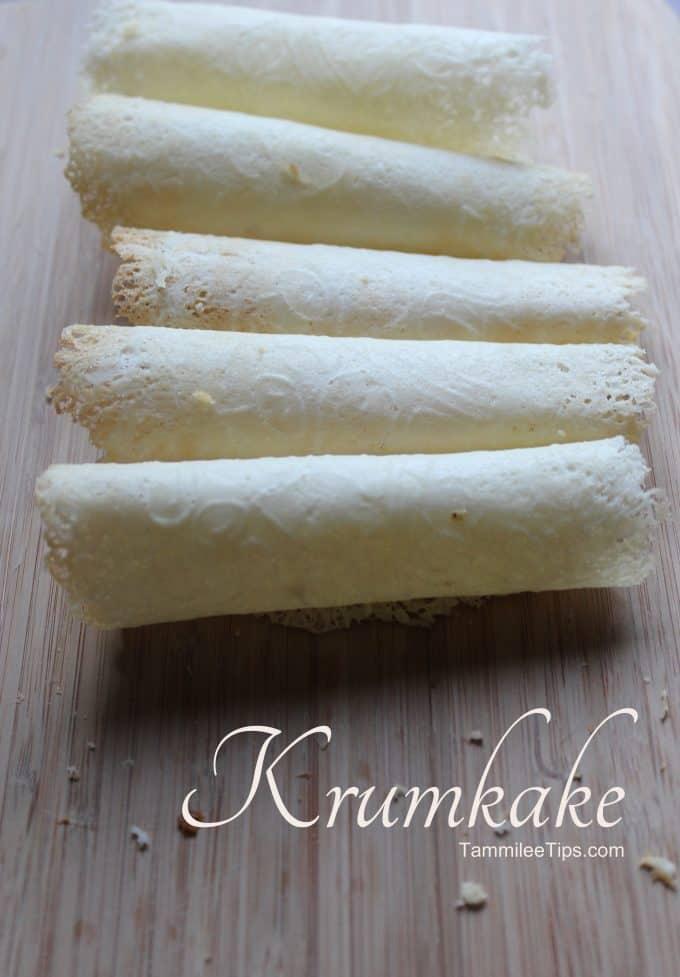 Krumkake Recipe