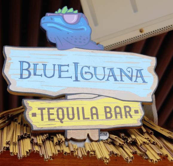 Blue Iguana Tequila Bar on the Carnival Breeze