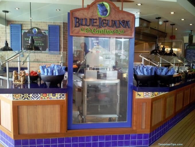 Blue Iguana Cantina on the Carnival Breeze