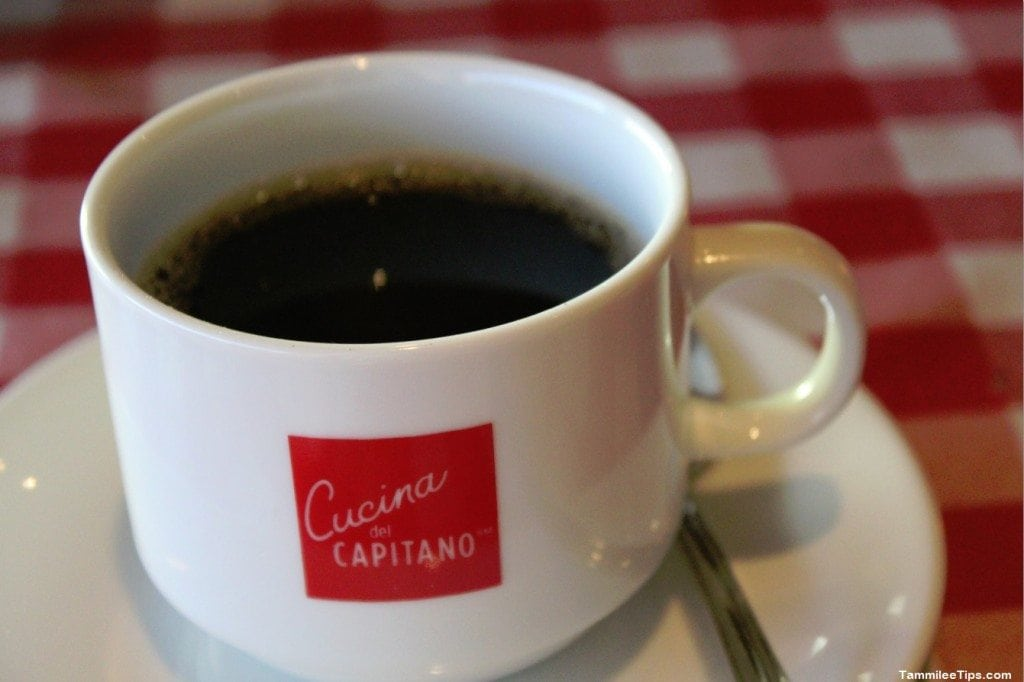 Carnival Breeze Cucina De Capitano Coffee