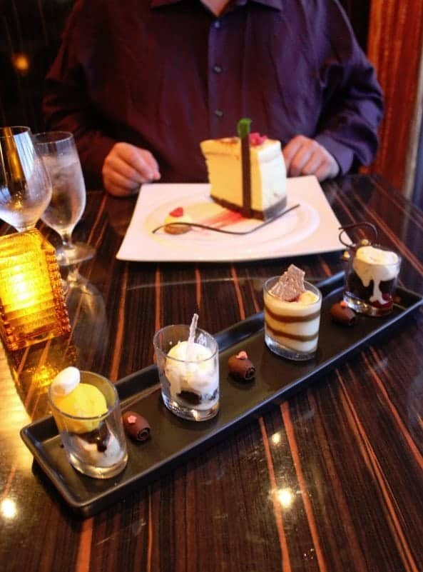 Carnival Breeze Fahrenheit 555 Steakhouse Chocolate Sampler