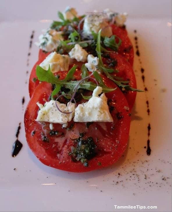 Carnival Breeze Fahrenheit 555 Steakhouse Tomato Salad