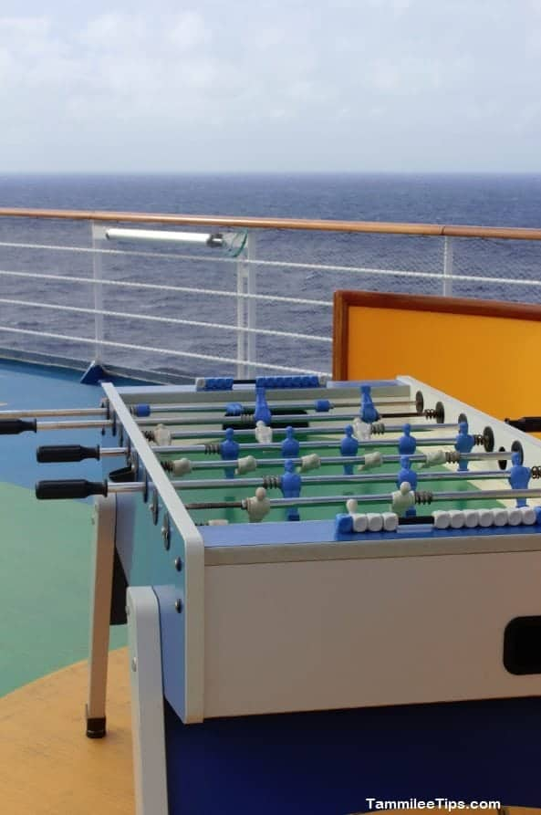 Carnival Breeze Fooseball