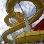 Carnival Breeze Pool Waterslides
