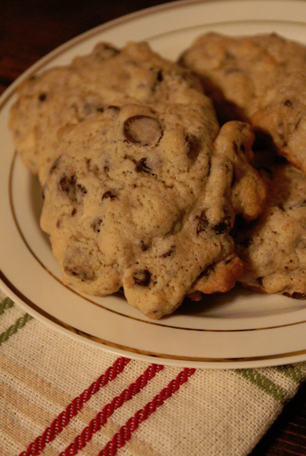Chocolate Chip Coconut Rum Cookies 2