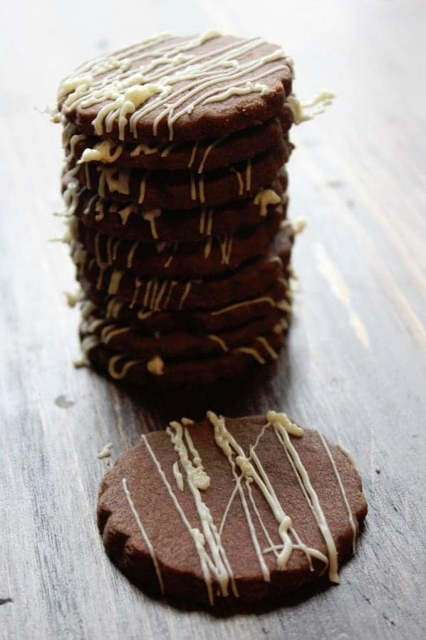 Chocolate Shortbread Cookies 3