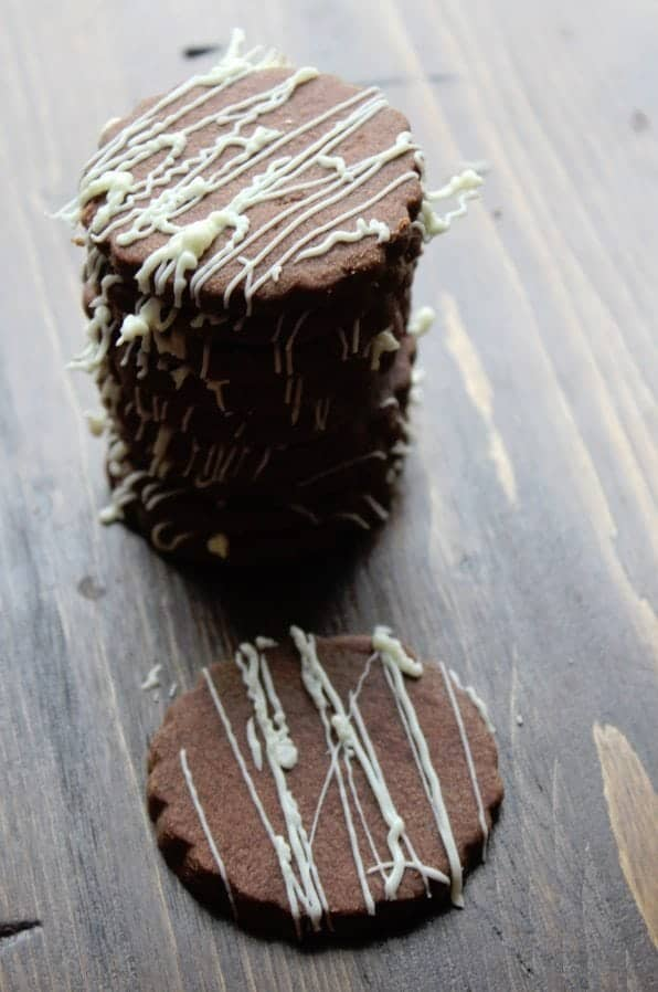 Chocolate Shortbread Cookies 5
