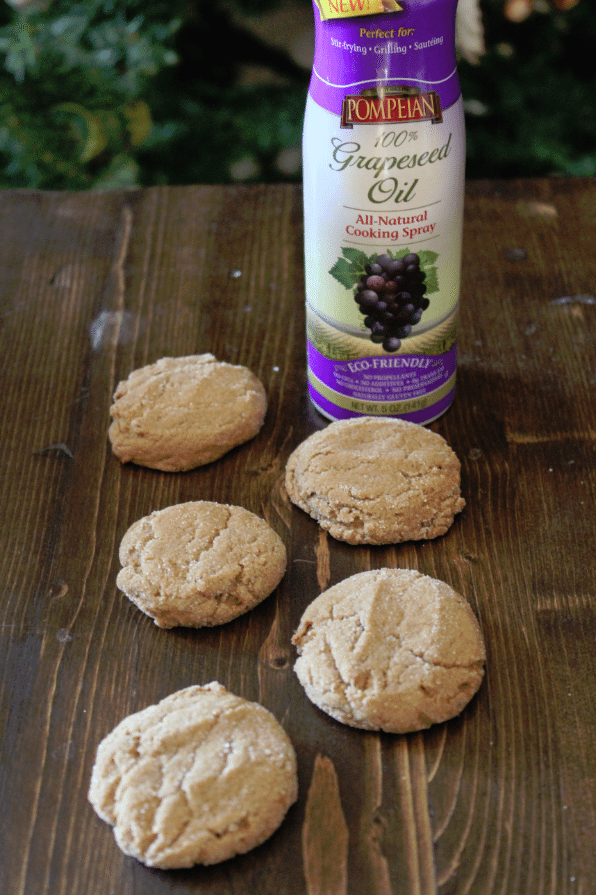 Molasses Cookies Pompeian Grapeseed Oil