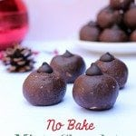 No Bake Minty Chocolate Cookie Balls
