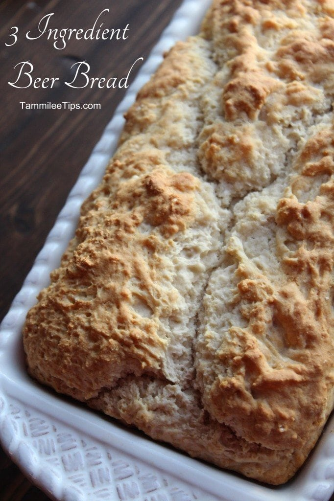 3 Ingredient Beer Bread